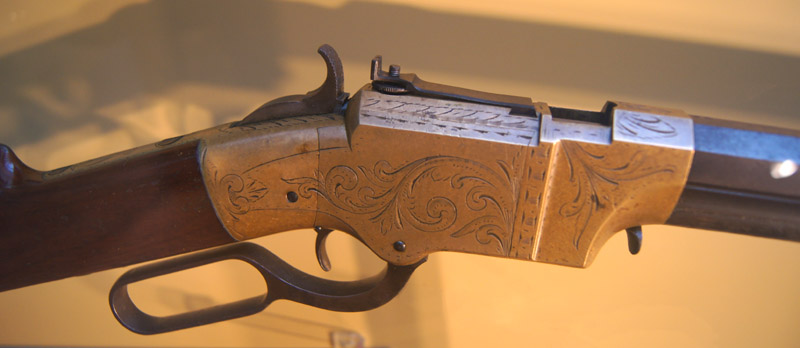 cap and ball rifle history by serial number