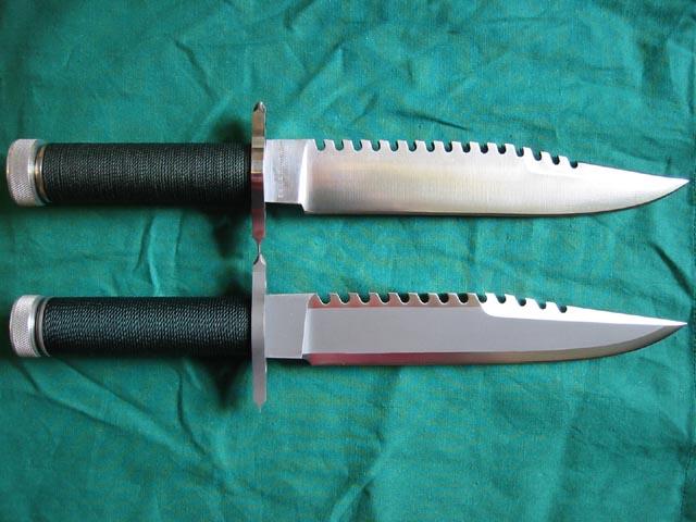 不过,其中空的刀柄中装的不是生存用品,而是一把折叠小刀.图片